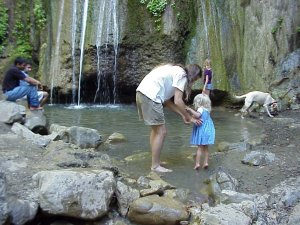 Cool off in Nojoqui Falls