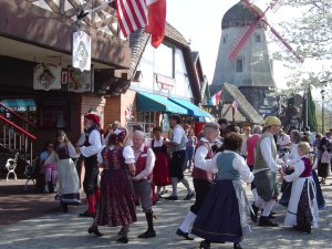 During Festivals, Dancers may be Spotted in Solvang