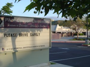 Plum Canyon Elementary School in Saugus