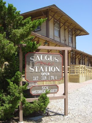 Saugus Train Station