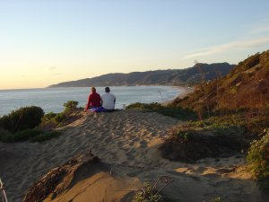 California's coastline provides ample opportunities for a romantic escape.