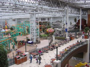 Inside the Mall of America