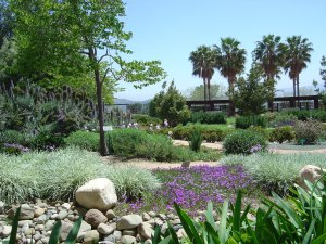 Several public gardens can be found throughout Santa Clarita