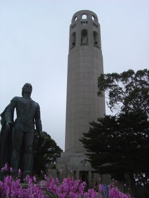 Coit Tower Offers one of the Best Views in San Francisco