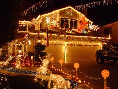 christmas lights in santa clarita - Christmas Lights In Santa Clarita