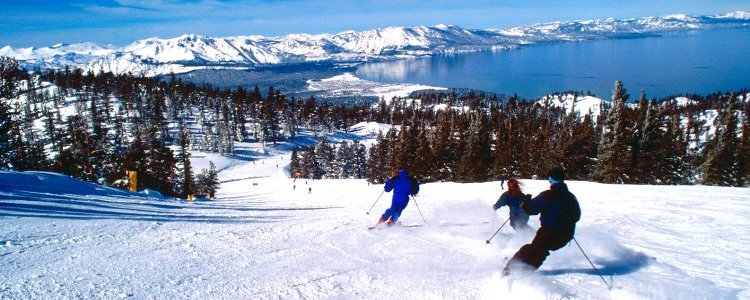 Incredible views of Lake Tahoe are around every turn at Heavenly Ski Resort. Photo courtesy of: Lake Tahoe Visitors Authority