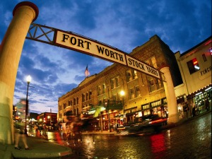 Fort Worth Stock Yards<br>Photo: Fort Worth Convention & Visitors Bureau