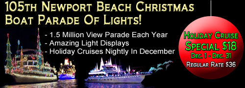 105th Newport Beach Christmas Boat Parade of Lights