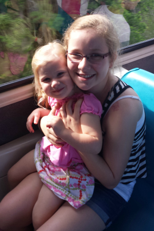 Riding the monorail to WDW Resort