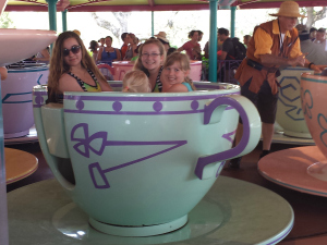 The Mad Tea Party in Fantasyland