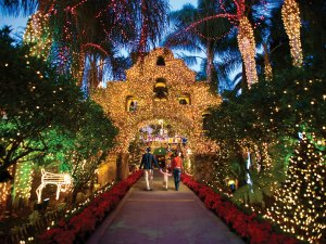 mission inn riverside - Christmas Lights In Santa Clarita