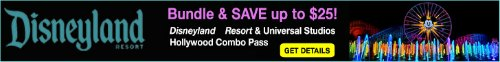 Disneyland and Universal Studios Combo Pass Discounted Tickets