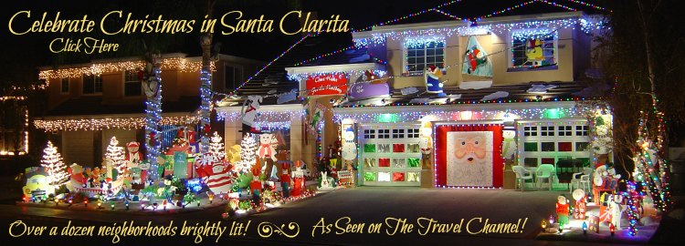 Celebrate Christmas in Santa Clarita