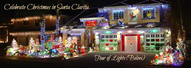 Christmas Lights Self-Guided Tours