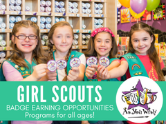As You Wish Pottery Girl Scouts