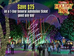 Best deal on Six Flags Magic Mountain Holiday in the Park