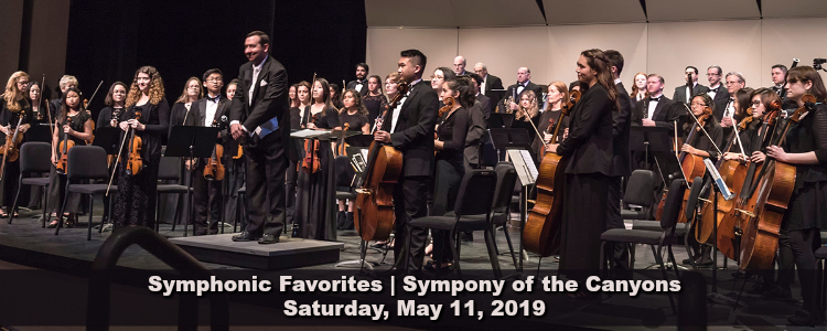 COC Symphonic Favorites, May 11, 2019