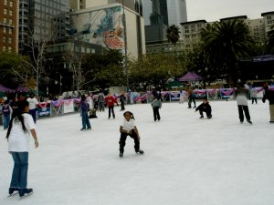 Downtown on Ice, Los Angeles